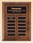 American Walnut Perpetual Plaque Achievement Awards