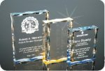 Scalloped Edge Plaque Acrylic Award Sales Awards