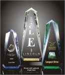 Faceted Obelisk Acrylic Award Sales Awards