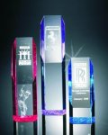 Slant Face Tower Acrylic Award Sales Awards