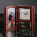 Book Clock Secretary Gift Awards